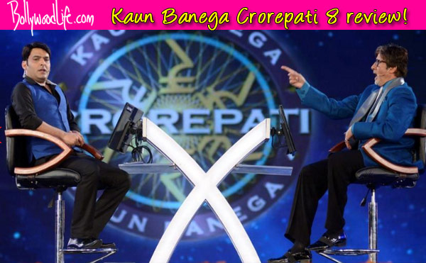 Kaun Banega Crorepati 8 TV review: Amitabh Bachchan and Kapil Sharma keep it entertaining and engaging