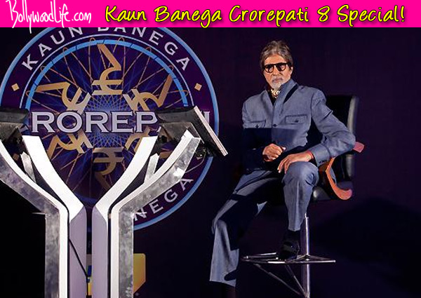 Five reasons to watch Amitabh Bachchan's Kaun Banega Crorepati 8 tonight!
