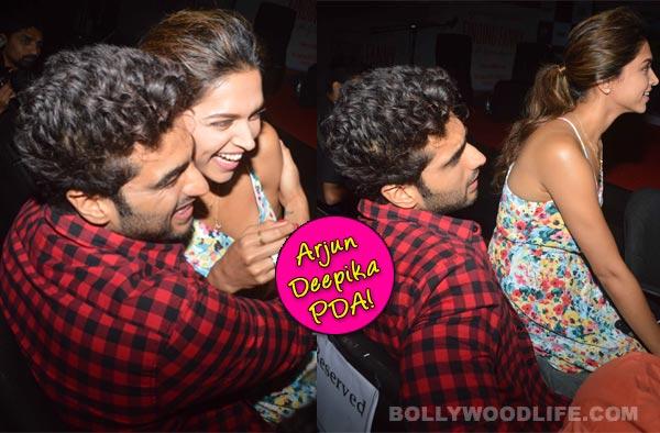 Arjun Kapoor and Deepika Padukone's PDA: Ranveer Singh, are you watching?