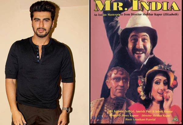 Arjun Kapoor clueless about Mr India sequel!