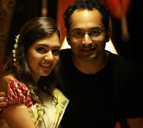Fahadh Fazil and Nazriya Nazim pose as husband and wife for the first time - Watch video!
