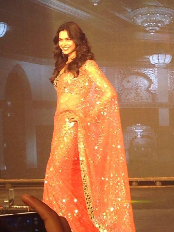 Happy New Year trailer launch: Deepika Padukone is on stage now!