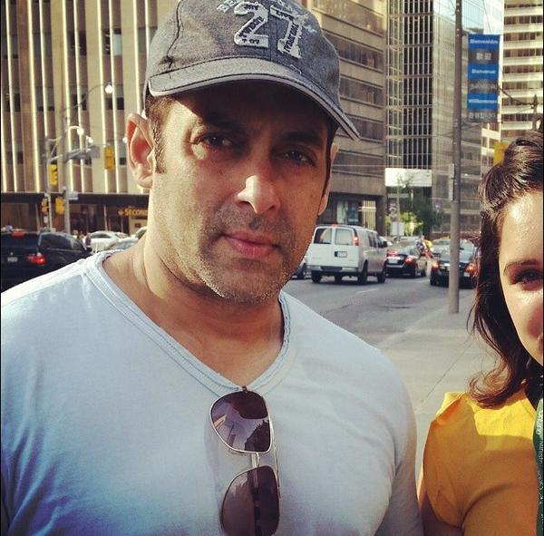 Salman Khan in Toronto for Dr Cabbie music launch - View pics!