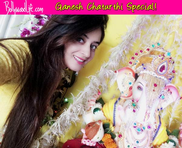 Ganesh Chaturthi 2014: Jay Bhanushali and Mahhi Vij celebrate Ganeshotsav – View pics!