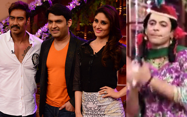 Comedy Nights with Kapil: Ajay Devgn-Kareena Kapoor celebrate with Kapil Sharma, Sunil Grover returns as Gutthi!