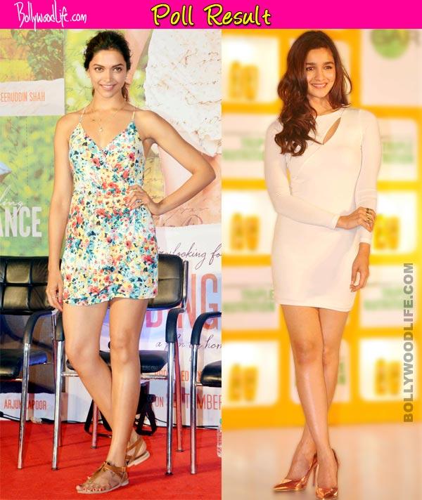 Deepika Padukone's legs hotter than Alia Bhatt's!
