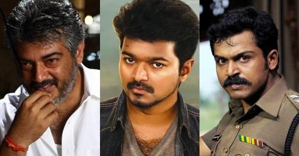 Vijay, Ajith or Karthi - who should replace Rajinikanth in Moondru Mugam remake? Vote!