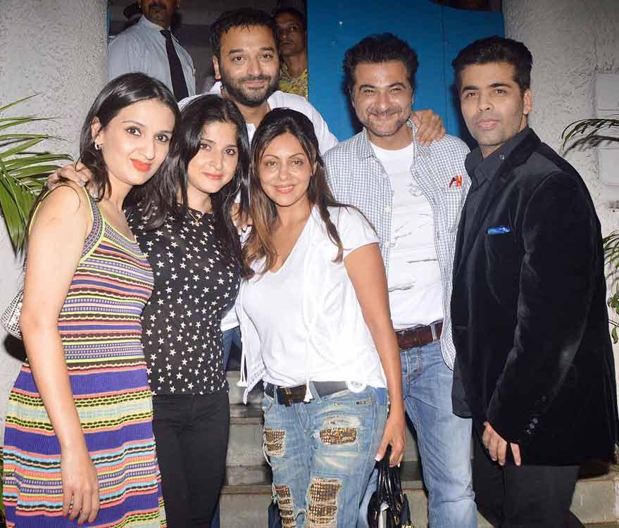 Karan Johar parties with Shah Rukh Khan's wife Gauri Khan!