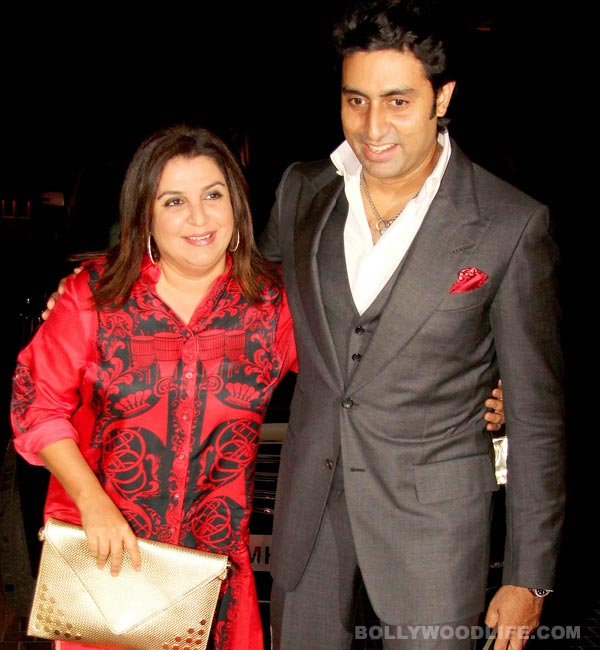 Did Farah Khan scare Abhishek Bachchan on the sets of Happy New Year?
