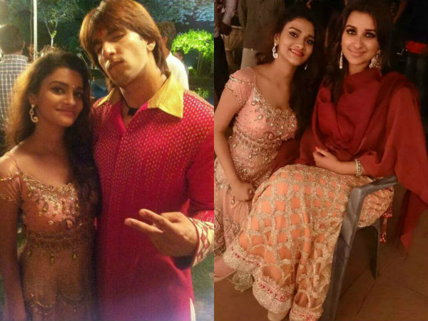 Clicked: Ranveer Singh and Parineeti Chopra on the sets of Kill Dil-view pics!