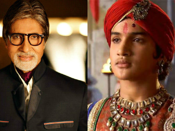 Maharana Pratap: Amitabh Bachchan's blessings mean a lot, says Faisal Khan!