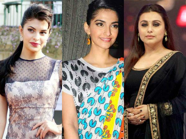 What are Jacqueline Fernandez, Sonam Kapoor and Rani Mukerji afraid of?