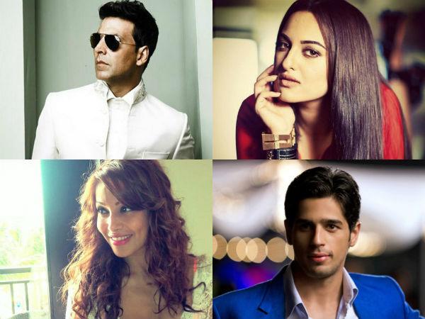ALS Ice Bucket Challenge: Want to know how Akshay Kumar, Sonakshi Sinha, Sidharth Malhotra and Bipasha Basu scored?