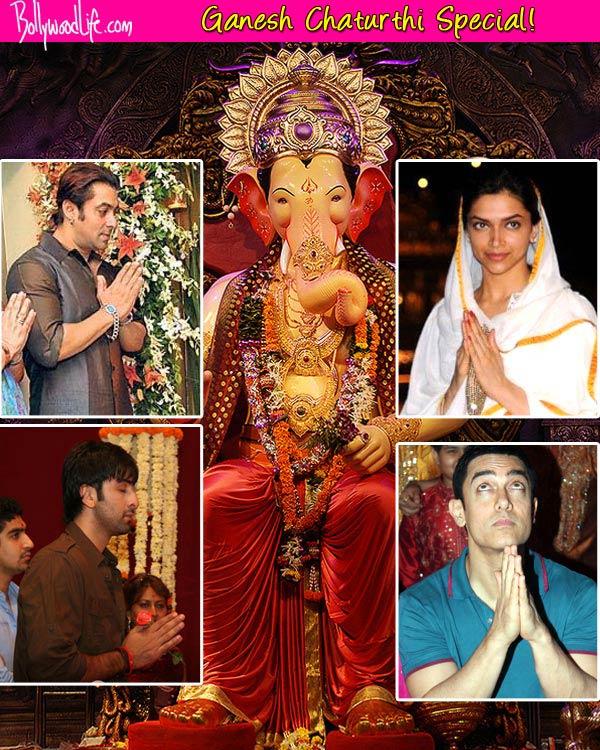 Here's what Salman Khan, Shah Rukh Khan, Deepika Padukone and Ranbir Kapoor should ask Lord Ganesha to bless them with...