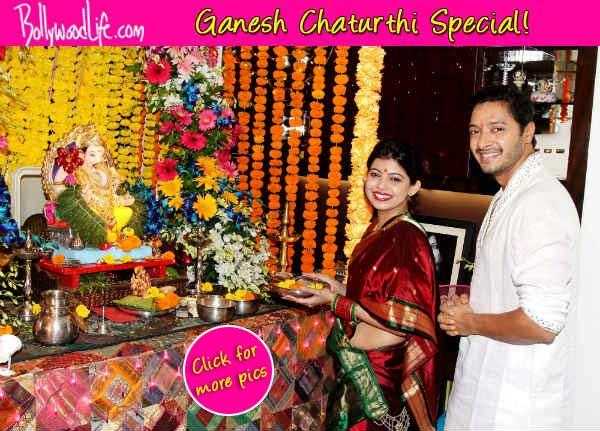 Ganesh Chaturthi 2014: Here's how Shreyas Talpade celebrated Ganpati!