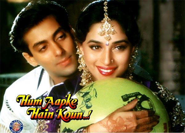 11 best dialogues from Salman Khan and Madhuri Dixit's Hum Aapke Hain Koun..!