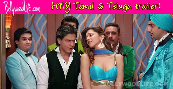 Happy New Year Tamil & Telugu trailer: Shah Rukh Khan and Deepika Padukone's voice perfectly dubbed