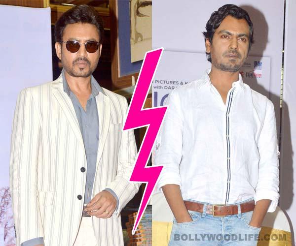 All's NOT well between The Lunchbox co-stars Irrfan Khan and Nawazuddin Siddiqui?