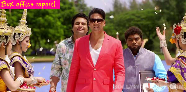 Entertainment box office collection: Akshay Kumar's slapstick comedy earns Rs 36.69 crores in the opening weekend