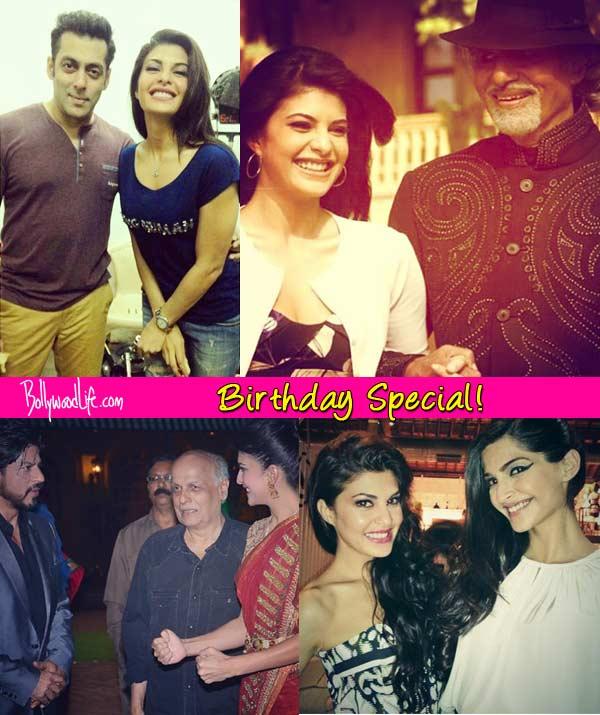 Salman Khan,Shah Rukh Khan,Sonam Kapoor: A look at Jacqueline Fernandez's candid moments with B-town celebs!