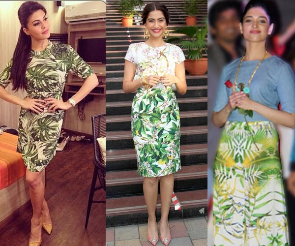 Tamannaah, Jacqueline Fernandez or Sonam Kapoor: Who wore the tropical print best?- Vote!