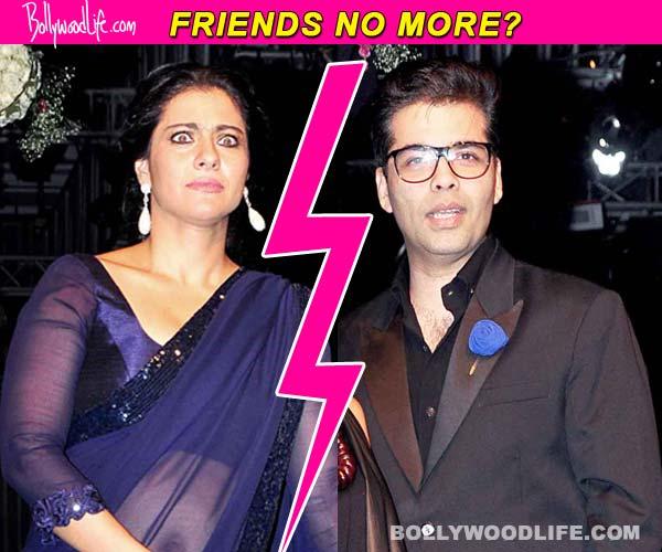 Karan Johar and Kajol avoid crossing paths