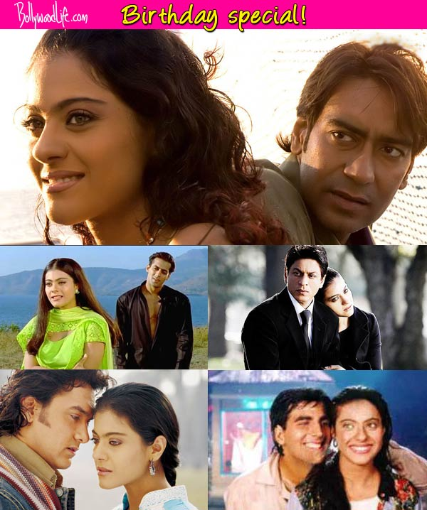 Who looks best with Kajol-Salman Khan, Shah Rukh Khan, Aamir Khan, Ajay Devgn or Akshay Kumar?