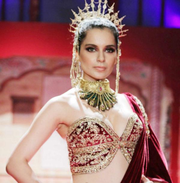 Kangana Ranaut loved by fashion designers!