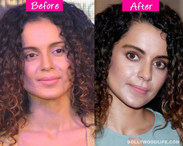 Kangana Ranaut's shocking makeover?