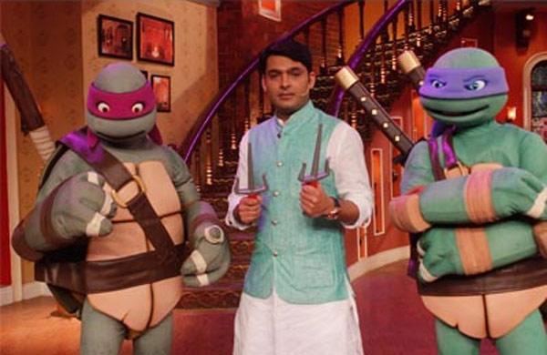Teenage Mutant Ninja Turtles make an appearance on Comedy Nights with Kapil!