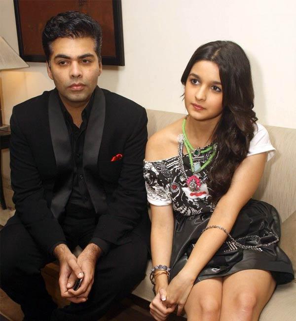 Karan Johar refuses to play Alia Bhatt's dad in Shandaar!