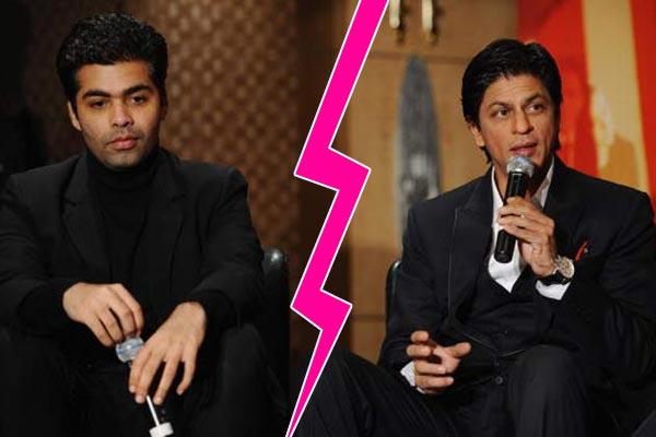 5 signs that indicated Shah Rukh Khan-Karan Johar fallout was inevitable!