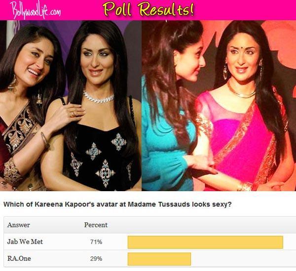 Kareena Kapoor's Jab We Met avatar better than her RA.One avatar at Madame Tussauds, say fans!