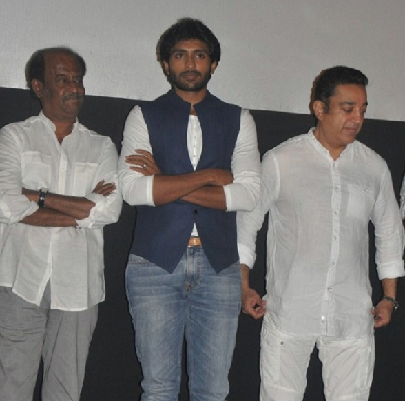 Rajinikanth and Kamal Haasan stand by Vikram Prabhu!