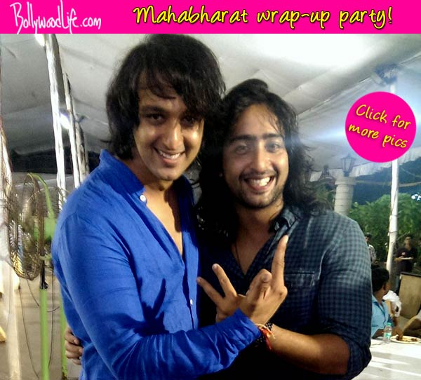 Mahabharat: Saurab Raaj Jain strikes a pose with his bro Shaheer Shaikh - view pics!