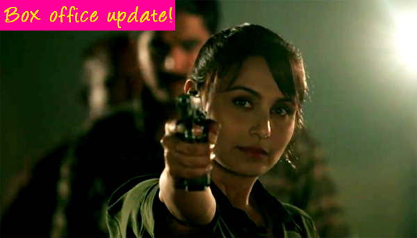 Mardaani box office collection: Rani Mukerji starrer mints around Rs 14 crore in the opening weekend!