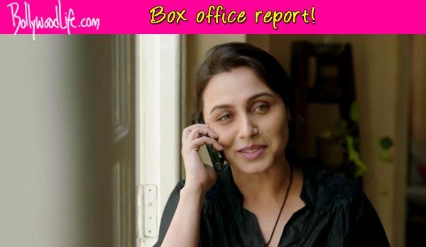 Mardaani box office collection: Rani Mukerji starrer off to a sluggish start!