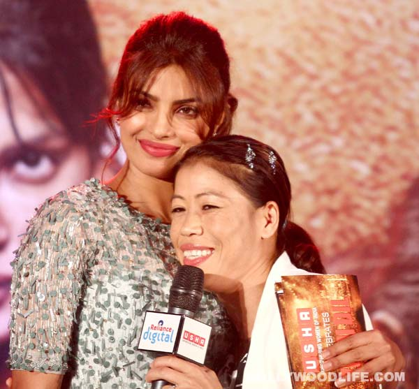 Mary Kom: Priyanka Chopra shared her life story with me and it was similar to mine