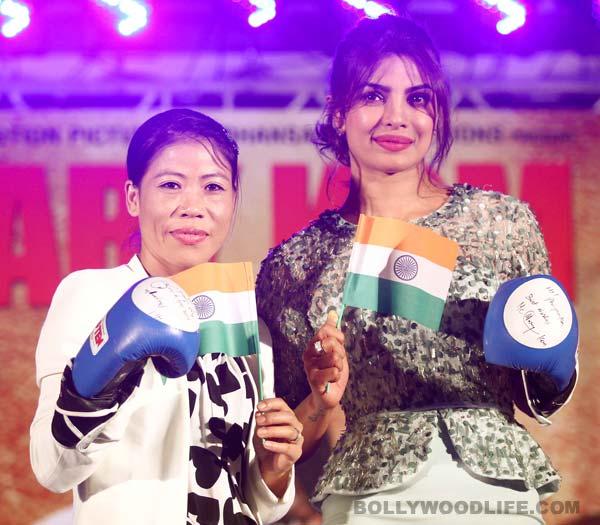 Mary Kom: I am happy Omung Kumar and Sanjay Leela Bhansali chose Priyanka Chopra for my role!