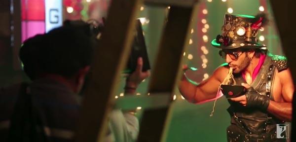 My Name is Ranveer Ching making video: Ranveer Singh has a blast shooting this manchow rap!