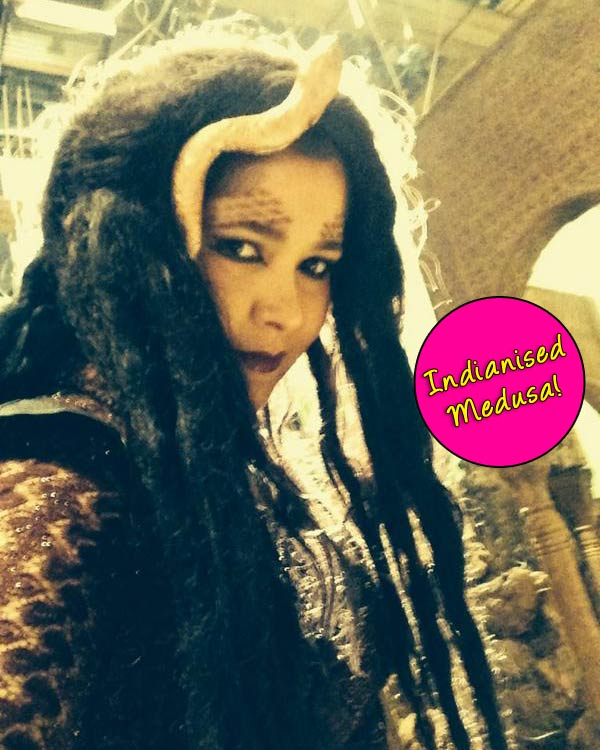 Narayani Shastri's Medusa avatar in Hatim out – view pic!