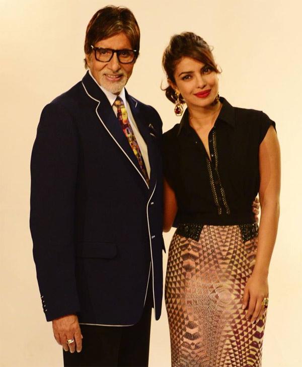 Amitabh Bachchan is all praises for Priyanka Chopra!