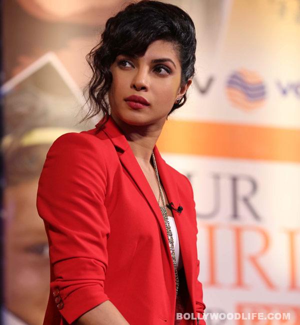 Priyanka Chopra is not a morning person!