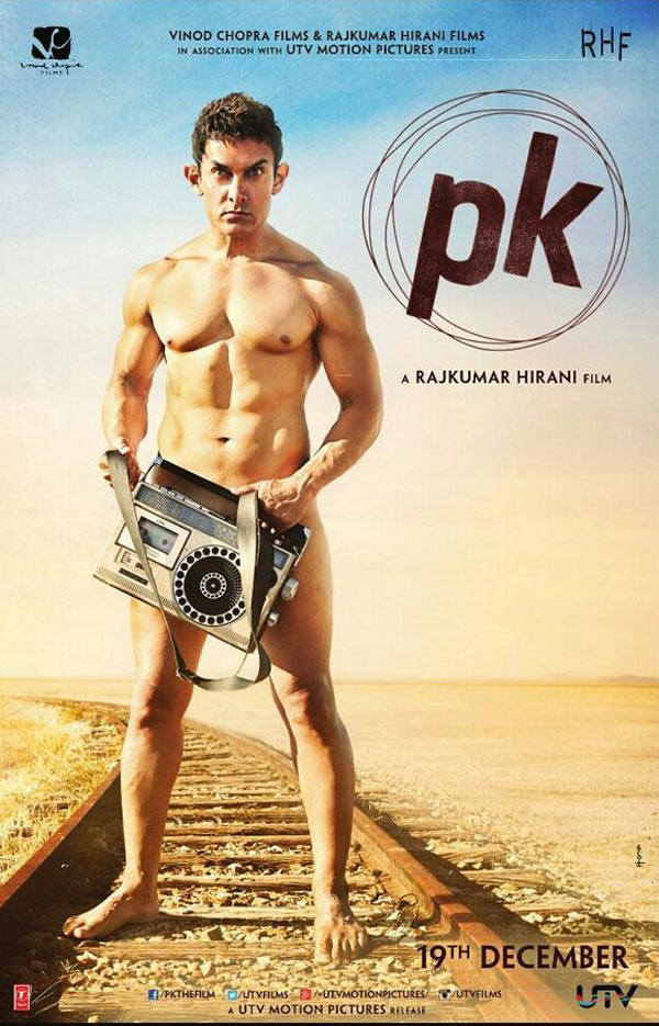 Revealed: Aamir Khan's PK poster shot at real location in Rajasthan