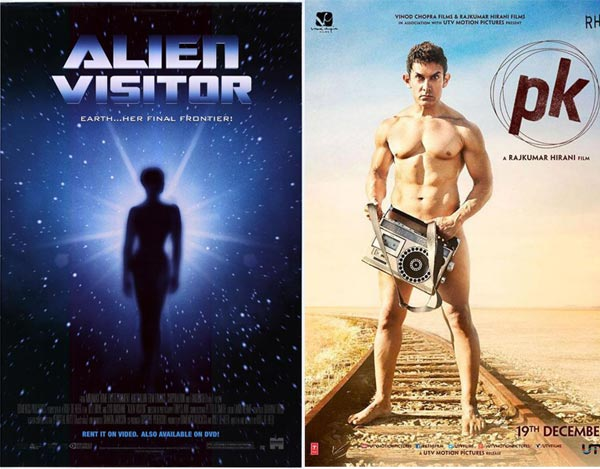 Is Aamir Khan's PK inspired by the movie Alien Visitor?