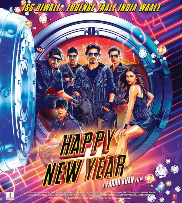 Shah Rukh Khan's Happy New Year trailer liked by over 7 crore people!