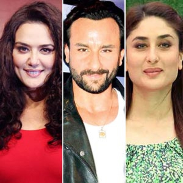 After Preity Zinta, Kareena Kapoor Khan also to play ex-lover to Saif Ali Khan in Happy Ending