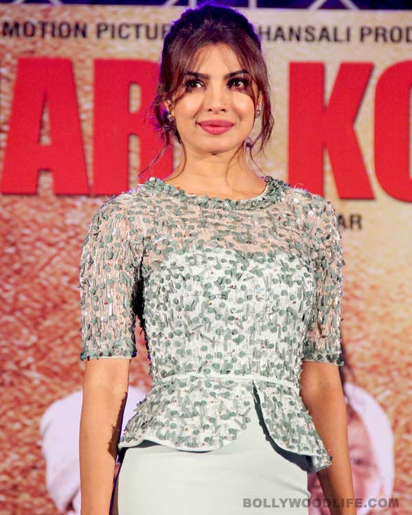Revealed: Why Priyanka Chopra decided to sing a song in Mary Kom?