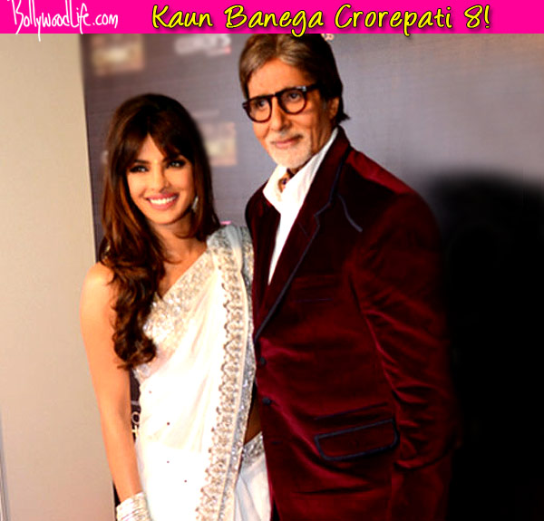 Kaun Banega Crorepati 8: Priyanka Chopra to promote Mary Kom on Amitabh Bachchan's show