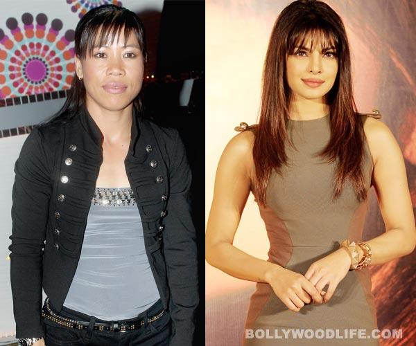 What is Priyanka Chopra's guru dakshina to Mary Kom on Teacher's Day?